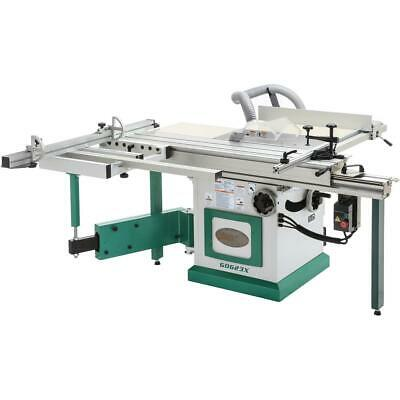 "Grizzly G0623X 10"" 5 HP 230V Sliding Table Saw"