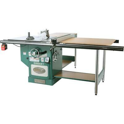 "Grizzly G0605X1 12"" 5 HP 220V Extreme Table Saw"