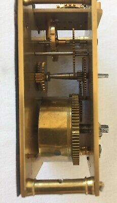 A Nice French Carriage Clock Movement & Dial