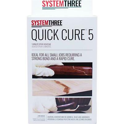 System Three T30576 Quick Cure 5-Minute Epoxy Adhesive Kit, 1 Pint