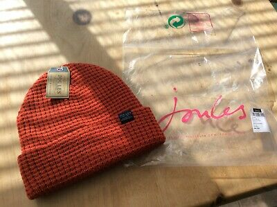 Men's Joules Knitted Red Bamburgh Hat