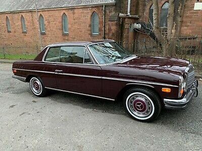1972 Mercedes 250C W114 Coupe ,2.8 Auto,Lhd, California Import, Lovely Condition