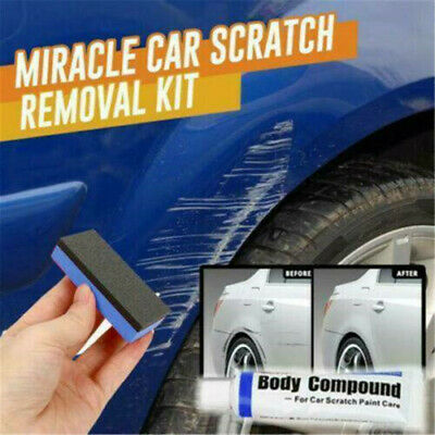 Car Remover Scratch Repair Paint Body Compound Paste Touch Up Clear Remover Set~