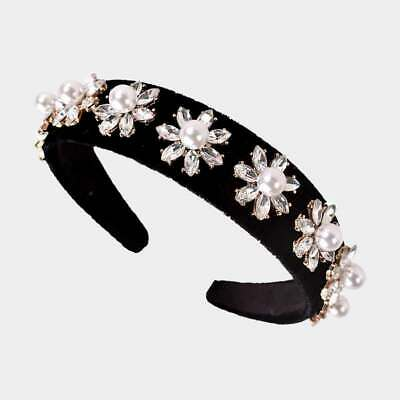 Free People Perfect Party Embellished Headband  Ivory NWT