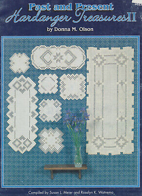Past & Present Hardanger Treasures 11 - 8 Great Patterns by Donna M.Olson