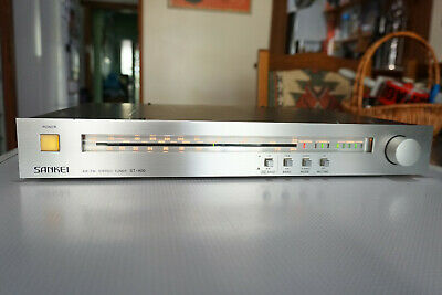 SANKEI AM/FM Stereo Tuner ST-400 Vintage HiFi Audio Compnent Made in JAPAN