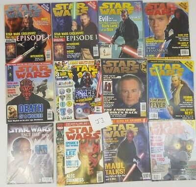 Star Wars Official Magazine Bundle Joblot Prequels Episode 1 2 3 Revenge Sith