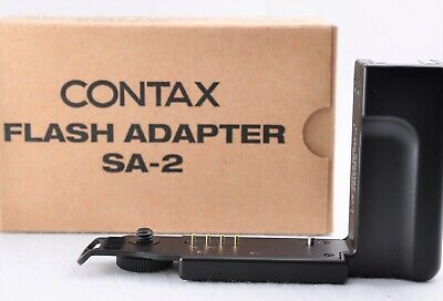 [TOP Mint in Box] CONTAX SA-2 Flash Adapter Black for CONTAX T3