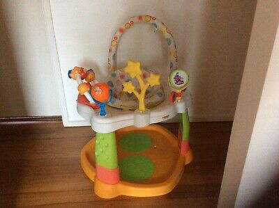 Baby Activity Centre With Swivel Seat, Music Centre & Stimulating Toys