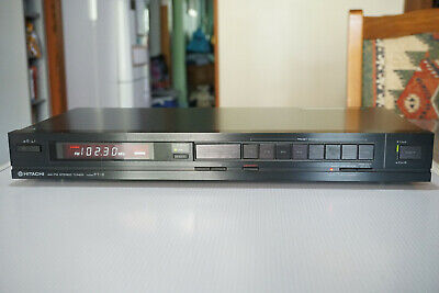 Hitachi FT-3 AM/FM Stereo Tuner (1986-88) Made in JAPAN Vintage