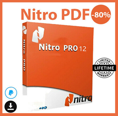 Nitro Pro 12 PDF ✔️ Viewer, Creator, Editor ✔️ Lifetime key 🔑 FAST DELIVERY 📬