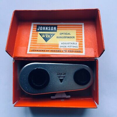 Johnson Wray Optical Range Finder With Shoe Fitting In Original Box
