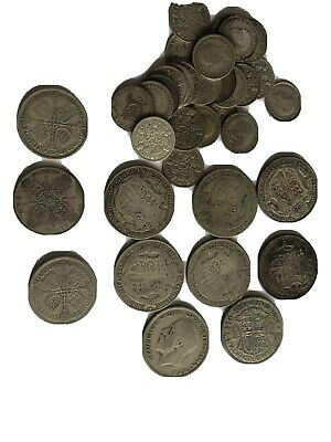 Job Lot Of Pre 1947 Silver English Coins