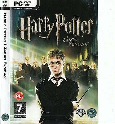 Harry Potter & The Order Of The Phoenix-PC DVD-ROM-English-Czech-Polish Options