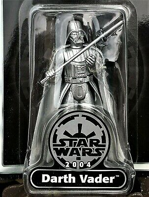 Darth Vader 2004 STAR WARS Silver 25th Anniversary Edition MOC