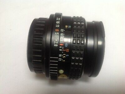 SMC Pentax -M f2.8 28mm wideangle lens