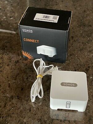 Pre-Owned Sonos CONNECT with Box - White - Works great!