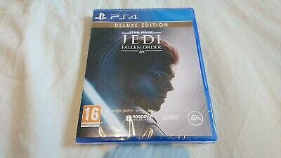 Star Wars Jedi Fallen Order DELUXE EDITION, PS4, NEW & SEALED, Playstation 4