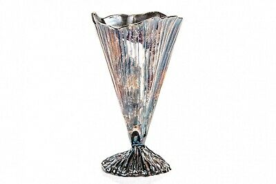 Michele Oka Doner For Christofle Limited Edition Silver Plated Palm Vase!