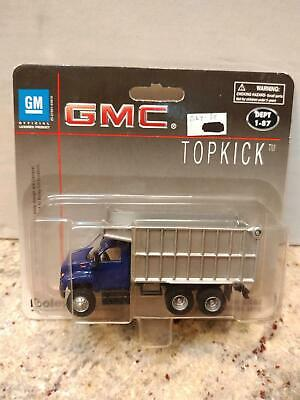 Boley HO 1//87 Die Cast Red /& White Stakebed Truck with Trailer 20477 New