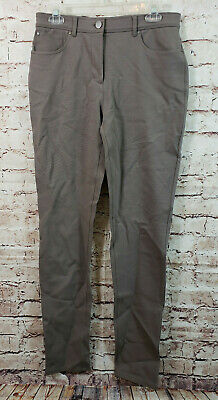Chicos So Slimming Casual Pants Womens Size 0.5 Tall Taupe