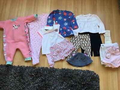 BABY GIRLS CLOTHES BUNDLE AGE 3-6 MONTH FROM NEXT etc.
