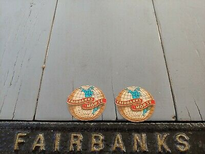 Fairbanks Morse Scale Small Restoration Decals Vintage Style(x2)
