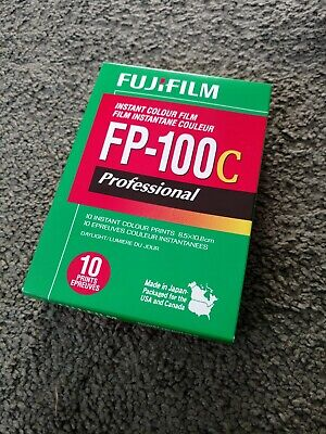 Fuji FP100c Film pack 2018 expiration, cold stored - One Pack