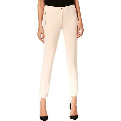 Calvin Klein Womens Pink Skinny Suit Separate Dress Pants Trousers 2 BHFO 9348