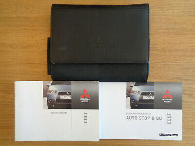 Mitsubishi Colt Owners Handbook Manual and Wallet 09-13