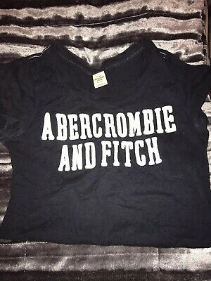 Ladies/ girls T Shirt Abercrombie & Fitch  size M Navy