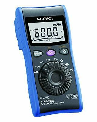 HIOKI Digital Multimeter for Voltage and Resistance   NEW From JAPAN