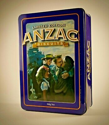 Collectable ~  Limited Edition Anzac Biscuit Tin