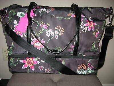 Vera Bradley Midtown Travel Bag Airy Floral Nwt