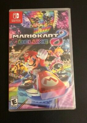 Mario Kart 8 Deluxe - Nintendo Switch - Brand New - Factory Sealed - Free Ship