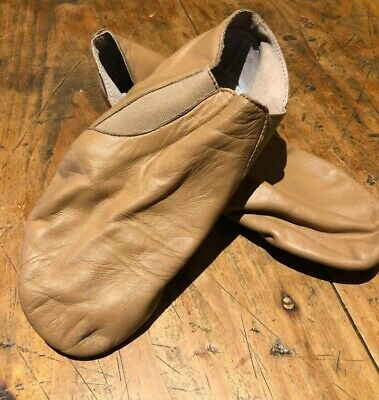 Jazz Shoes - Tan - Energetiks - Size 6.5 Adults - Used - Pickup Ormond