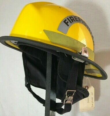Bullard Firedome Px Series Firefighter Fire Man Helmet Model R721 - Yellow