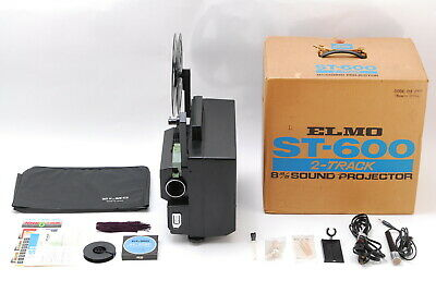 【NEAR MINT in BOX】 Elmo ST-600 2-Track 8mm Sound Projector Super 8 from JAPAN705