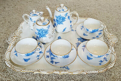Davenport 19th Century Porcelain Tea Service