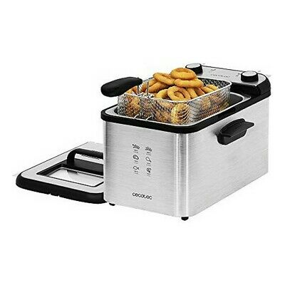 Fritteuse Cecotec CleanFry Infinity 4000 Full Inox 4 L 3270W Edelstahl