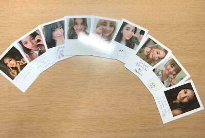TWICE Official 9 Photocards Set Dicon vol.7 You only live ONCE K-pop Magazine B