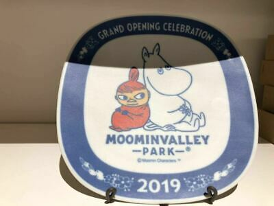 Moomin Valley Park Limited Popcorn Case Bucket Cart House With string Band Japan