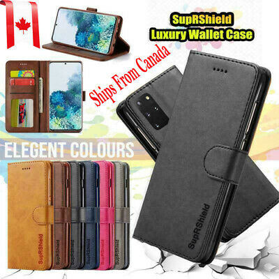 For Samsung Galaxy S20+ S9 S10 Plus S10e Note 10 Wallet Leather Flip Case Cover