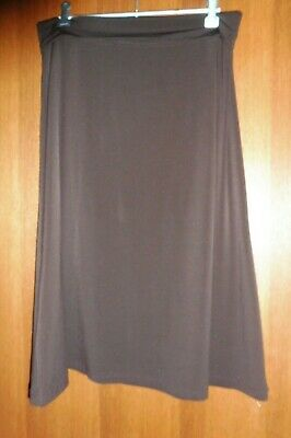 Mums the Word Brown jersey skirt size 12