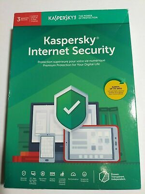 Kaspersky Internet Security 3 Devices / 1 Year Licence