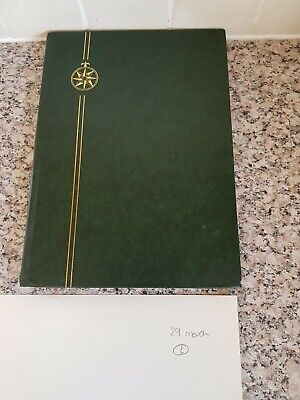 Stamp albums with stamps interesting album x 16 pages approx for sorting