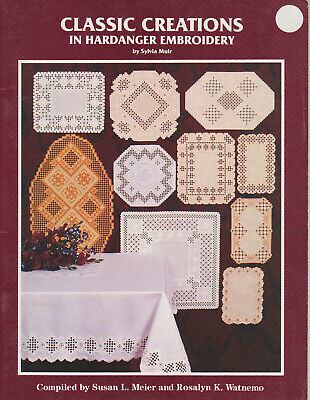 Classic Creations in Hardanger Embroidery NEW