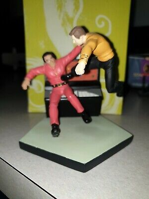 Star  Trek Space Seed Minature By Applause
