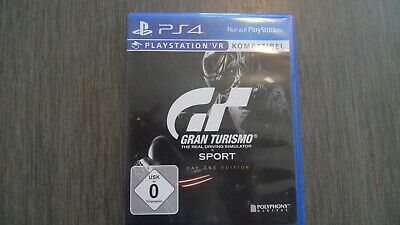 Gran Turismo Sport Day One Edition (Sony PlayStation 4, 2017) PS4