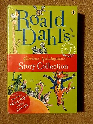 BNIP Roald Dahl Glorious Galumptious Story Collection paperback books new sealed
